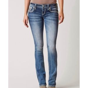 Rock Revival Rylee Boot-Cut Stretch Jeans